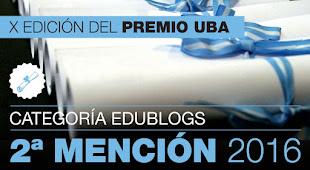 X Edición del Premio UBA- Categoría EDUBLOGS