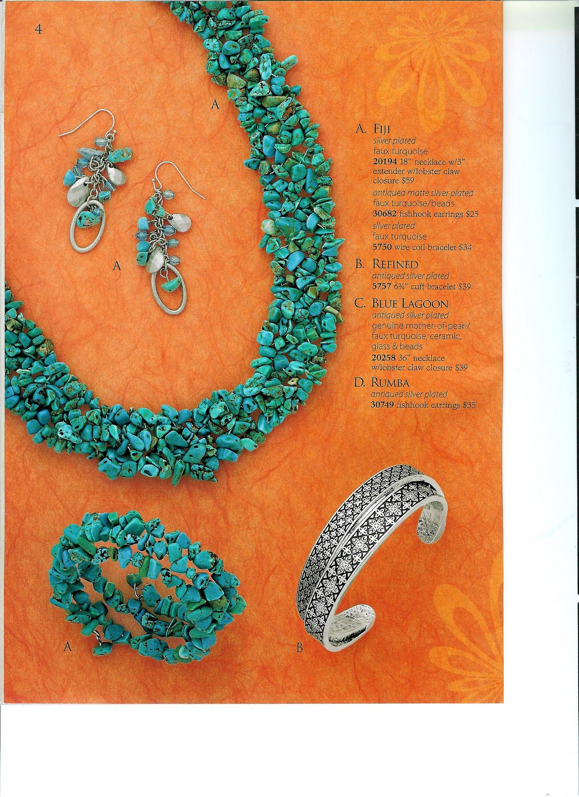 Jewelry diva spring summer catalog 2011 for Premier jewelry catalog 2011