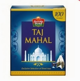 Brooke Bond Taj Mahal 100 Tea Bags worth Rs.122 for Rs.83 Only (Including Shipping Charges)