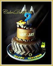 Jay-Jay's Monster Truck Cake