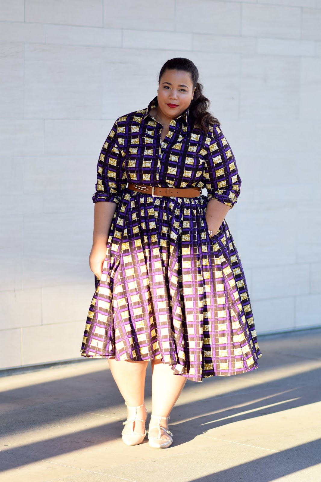 GarnerStyle | The Curvy Girl Guide: Shadows of Purple
