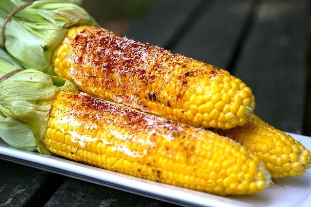 My Catholic Kitchen » Grilled Corn on the Cob
