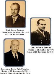 Máximos responsables del genocidio en Chaco
