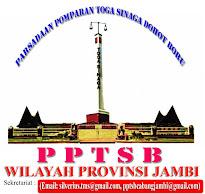 Pengurus PPTSB Wilayah Provinsi Jambi 2016 Periode 2016-2020