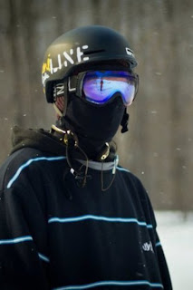 cool snowboarder