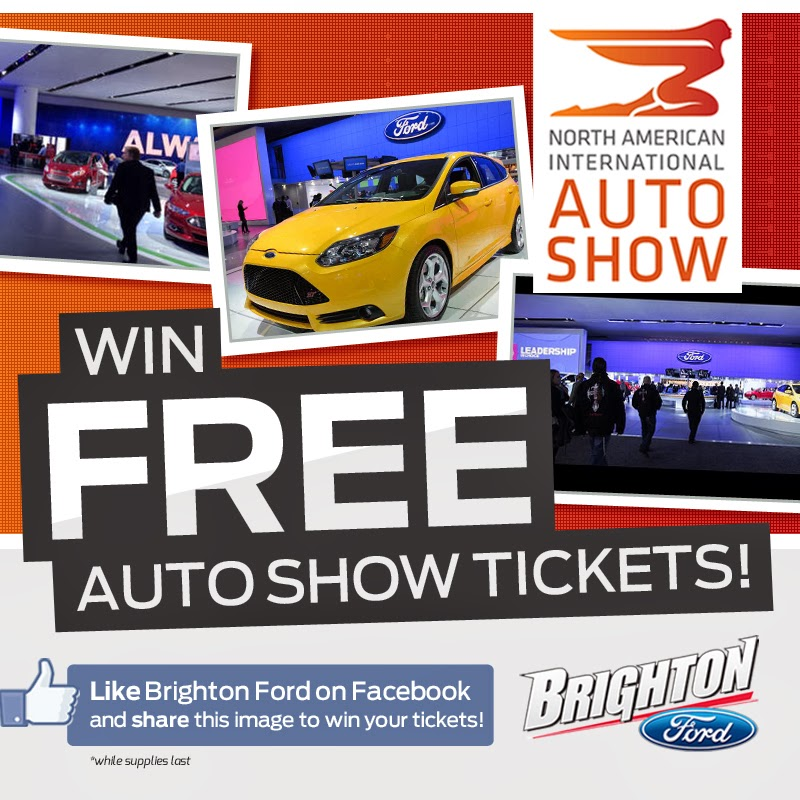 The Low-Down on the 2014 NAIAS and FREE Ticket Giveaway