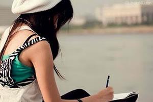 menina escrevendo