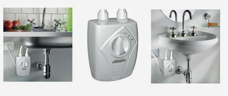 Construindo Minha Casa Clean Aquecedor de Água Elétrico na Minha Cozinha e n -> Aquecedor Para Pia De Banheiro