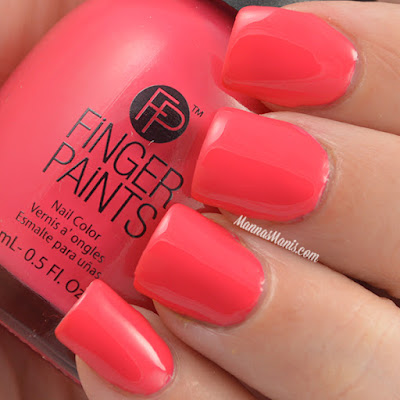 FingerPaints Tie Dye Revolution Far Out Fuchsia swatches