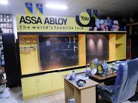 Furniture Semarang Etalase Toko Bahan Bangunan Branding Merk Perusahaan