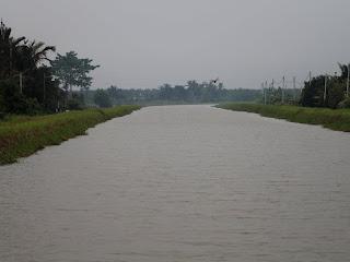 Terusan Yang Menjadi Nadi Bekalan Air Ke Jelapang Padi Daerah Kerian Negeri Perak.