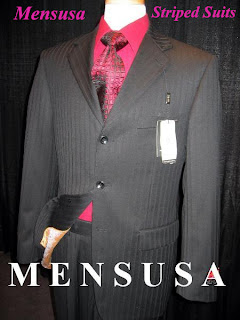 Mensusa Striped Suits