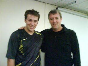Matt Le Tissier meets a footballing legend