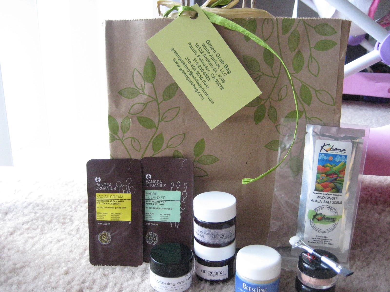 photo Review of Green Grab Bag Natural Beauty Box
