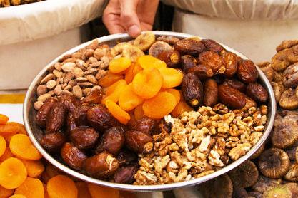 تشكيلة رائعة و منوعة لياميش رمضان الكريم روعة