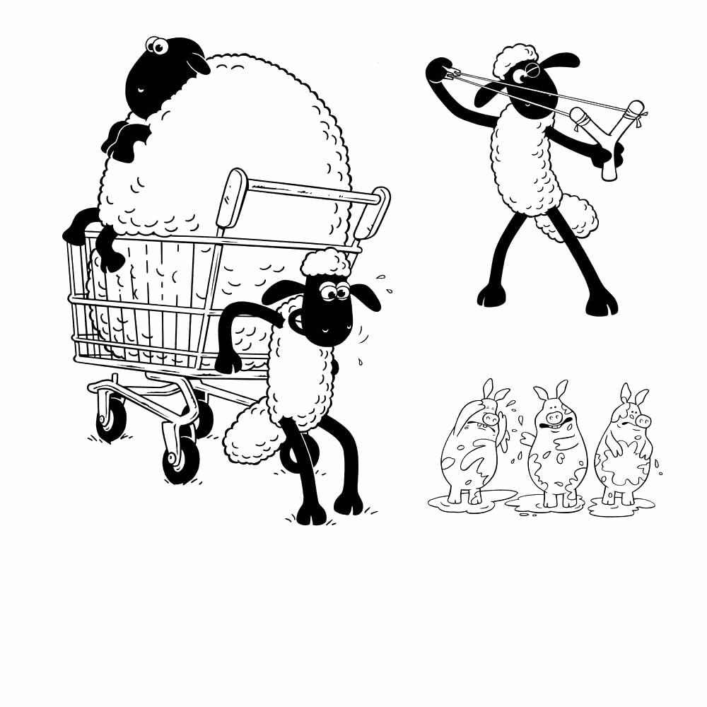demikian informasi mengenai mewarnai shaun the sheep terbaru semoga bermanfaat