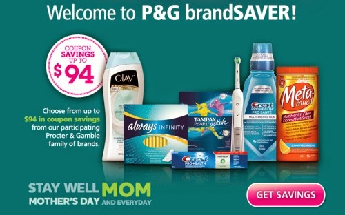 Canadian Daily Deals: P&G BrandSAVER Spring Canadian Coupons