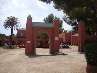 El Templo del Sol - Naturist Camping - Beautiful entry