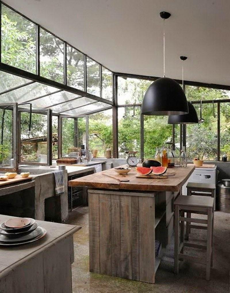Nuevas tendencias en dise o de cocinas looks atemporales - Diseno cocina industrial ...