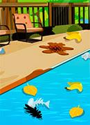 Уборка бассейна - Онлайн игра для девочек