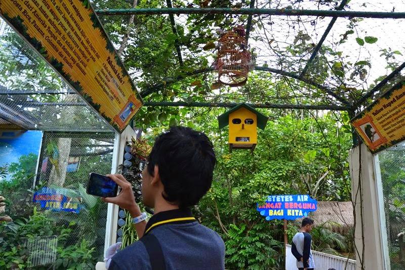 Spot Khusus untuk Satwa Burung di Eco Green Park Batu Malang