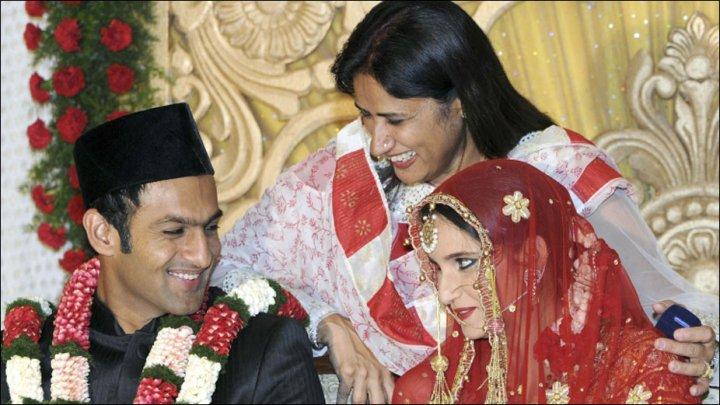Shadi Pictures Of Sania Mirza