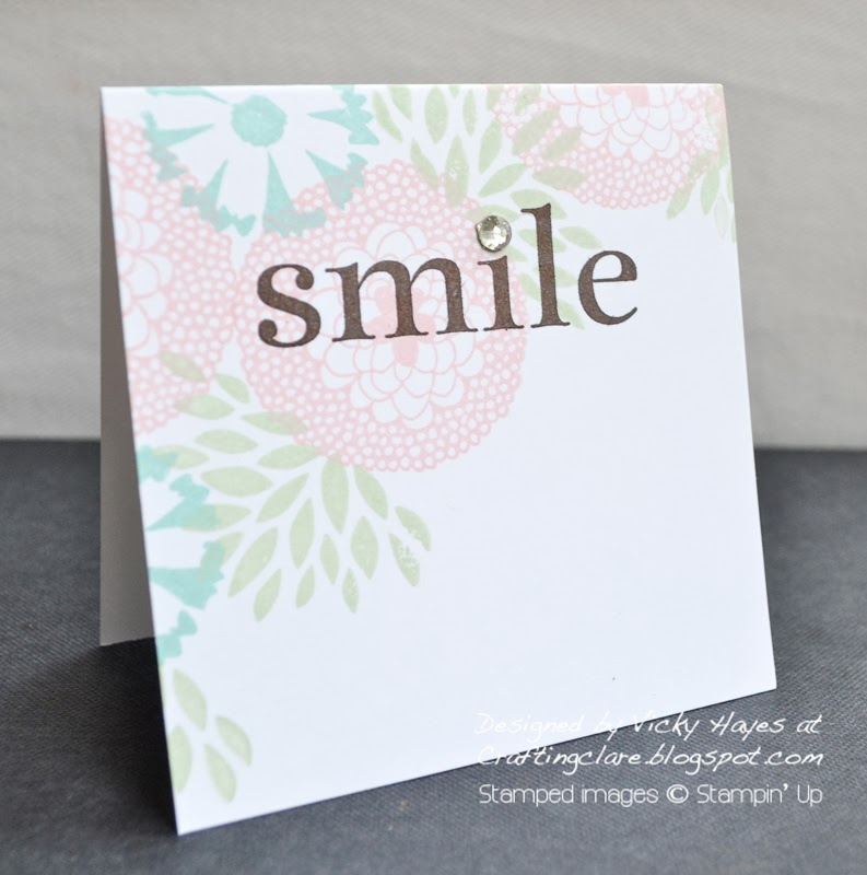 Start a Stampin' Up business with Vicky at Crafting Clares paper moments