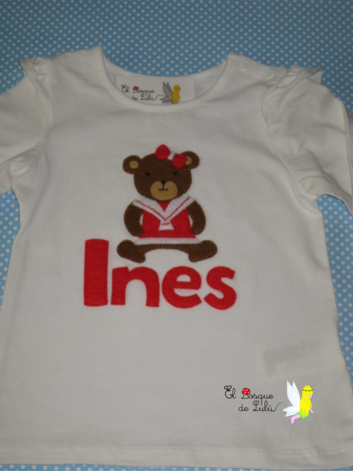 camiseta-customizada-fieltro-personalizada-decorada-infantil-Ines