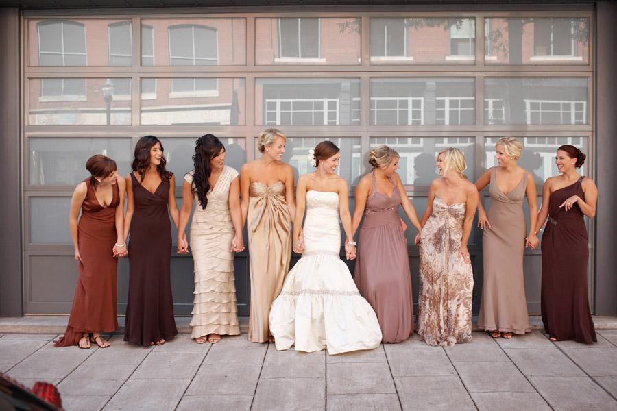 BridalHood: Wedding Trend: Long Bridesmaids Dresses