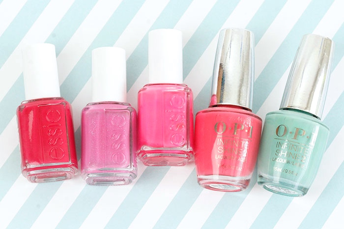 Top 5: Favourite Summer Nail Polishes