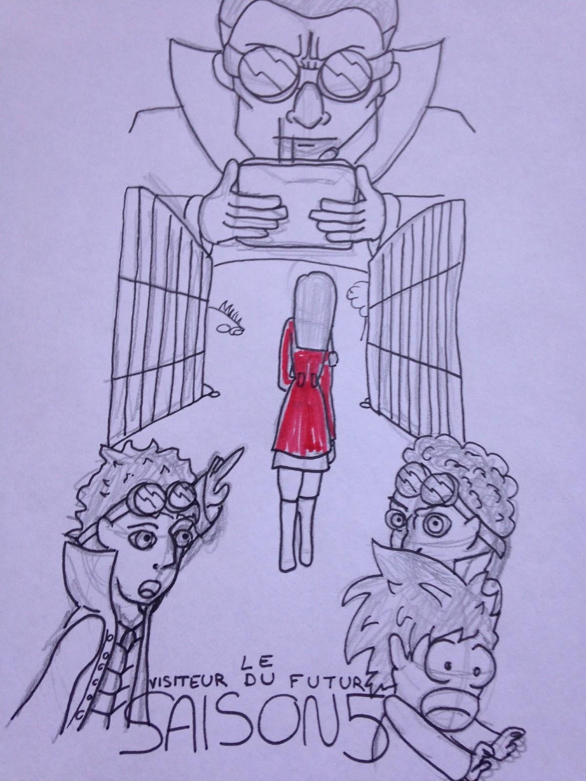 Le visiteur du futur, saison 5: Scénario IMG_2236