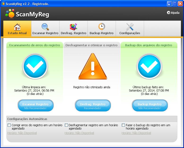 Resultado de imagem para ScanMyReg 2.2 em portugues