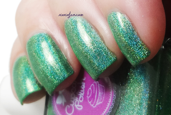 xoxoJen's swatch of Cupcake Polish Leaf Me Alone