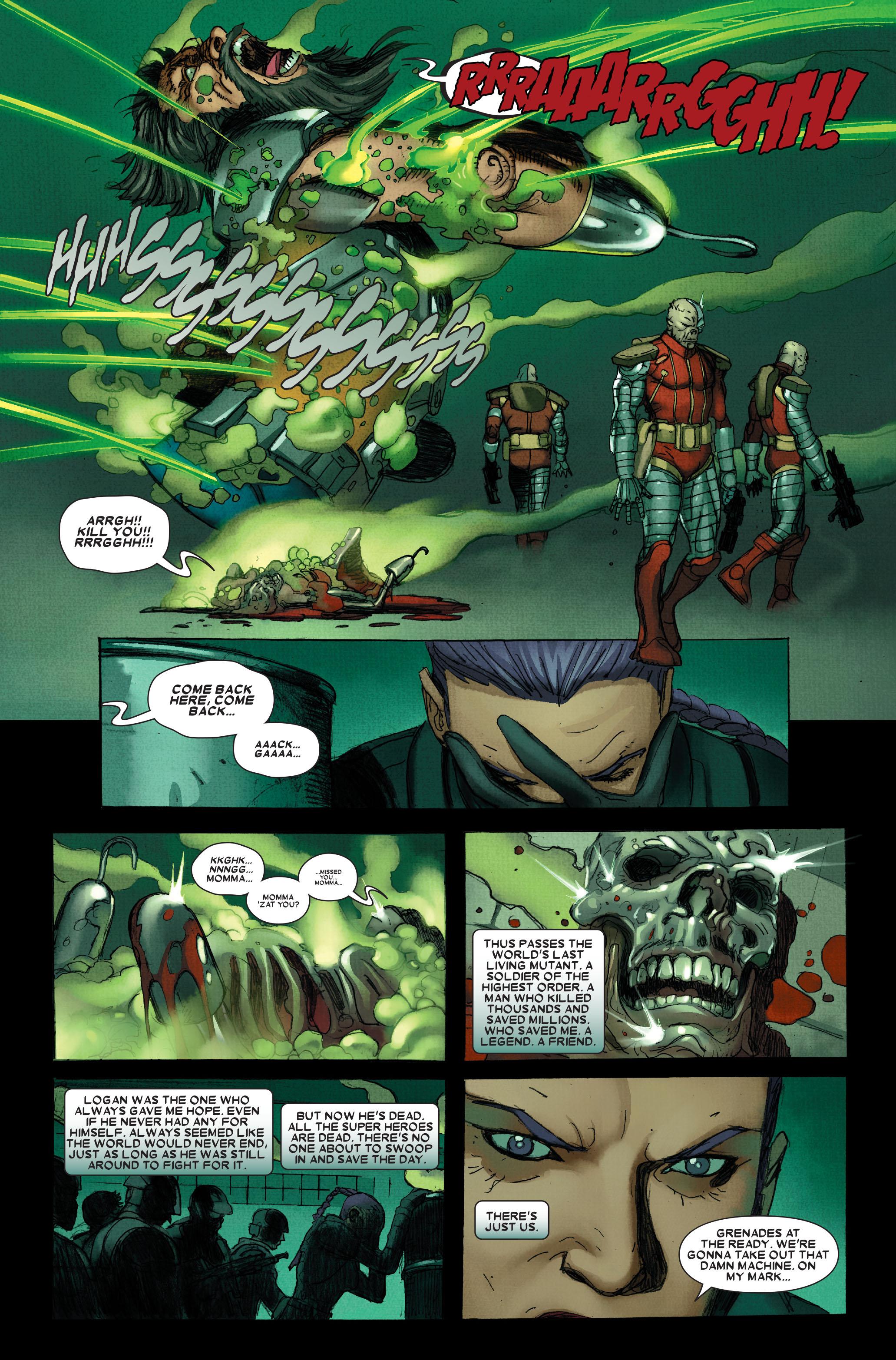 Wolverine: Weapon X #12 #5 - English 23