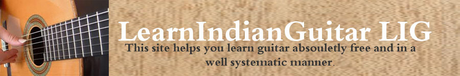 LearnIndianGuitar LIG
