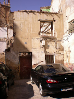 Ruinas calle Gotor Calatayud