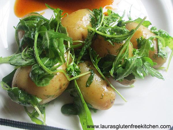 Rocket Potatoes