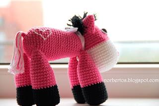 Crochet donkey