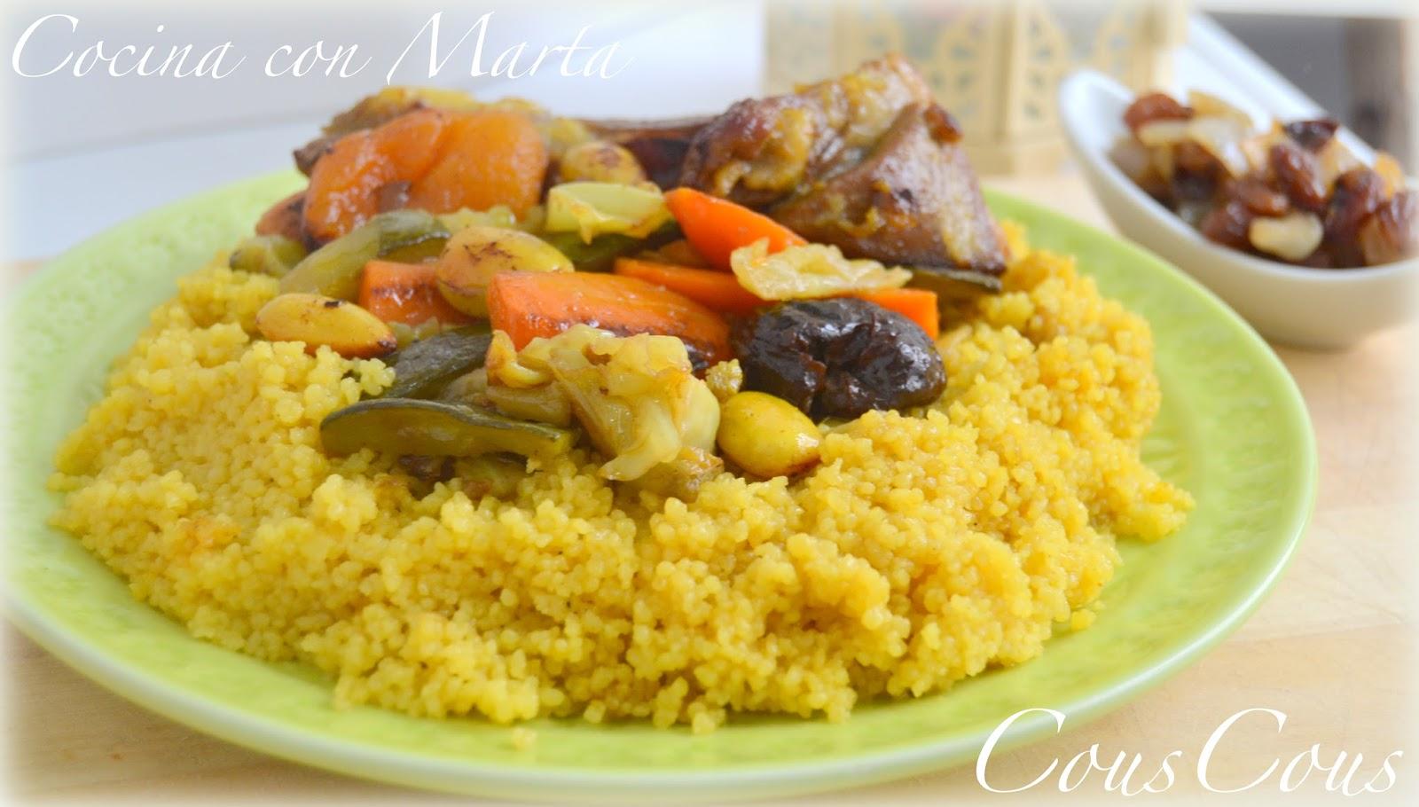 Cous cous marroquí, casero y fácil