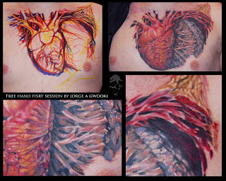 examples of hearts tattoos