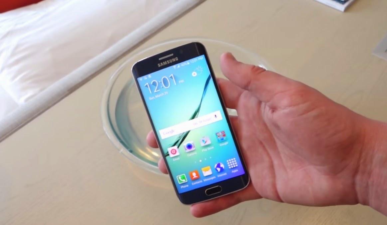 مرة أخرى Galaxy S6 Edge في اختبار جديد و النتيجة غير متوقعة (فيديو)
