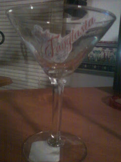 True Blood Party Favors Fangtasia Martini Glass @ Northmans Party Vamps