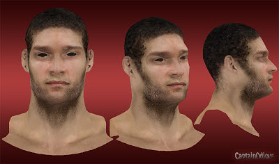 NBA 2K13 Brook Lopez Cyberface Mods