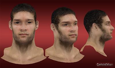 NBA 2K13 Brook Lopez Cyberface Mods
