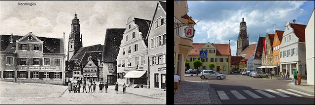 讷德林根(德语:Nördlingen)是德国巴伐利亚州西部的一个市镇,总人口19048人(2011年12月31日),位于一个巨大的撞击坑的中间,也是三十年战争期间讷德林根战役的所在地。今天,这里是仅有的三座完全为城墙环绕的城市之一,另外两座是罗滕堡 (陶伯河)和丁克爾斯比爾。  這個小鎮特別之處是建立在一個1500萬年前直徑1.5公里的隕石坑中,是個獨一無二的隕石坑古鎮。這個隕石坑是地球上現存最大的隕石坑之一,坑洞面積大再加上千萬年的大自然風雨侵蝕和人類的開墾,所以感覺不到走在巨大的隕石坑洞裡。  古罗马城堡的遗址已经在地下发现。1998年,该市庆祝建城1100周年。