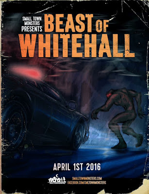 Beast of White Hall Film Poster