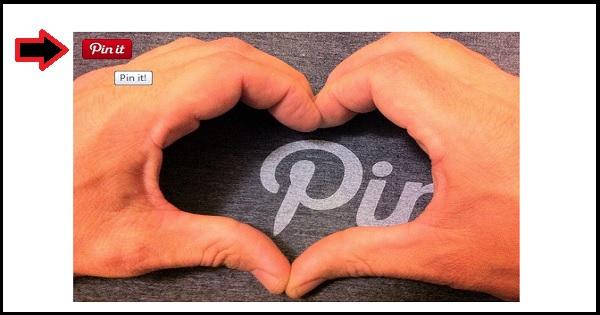 Cara meletakkan butang Pinterest pada Blogspot Blogger