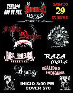 Skinhead Festival en Temoaya