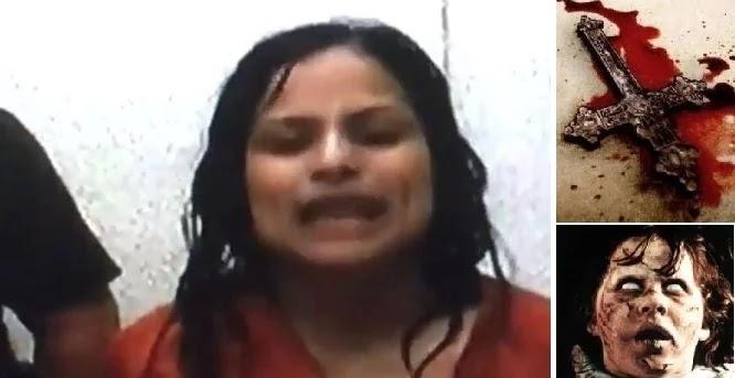 ΑΙΜΑΤΗΡΟΣ ΕΞΟΡΚΙΣΜΟΣ! Εμπηξε σταυρό στο λαιμό της κόρης της γιατί ήταν… δαιμονισμένη