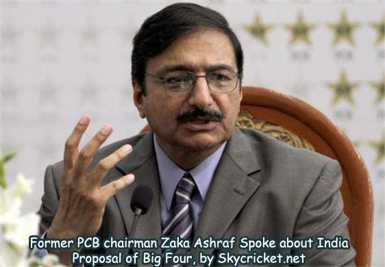 Former chairman Zaka Ashraf talk about Big Four